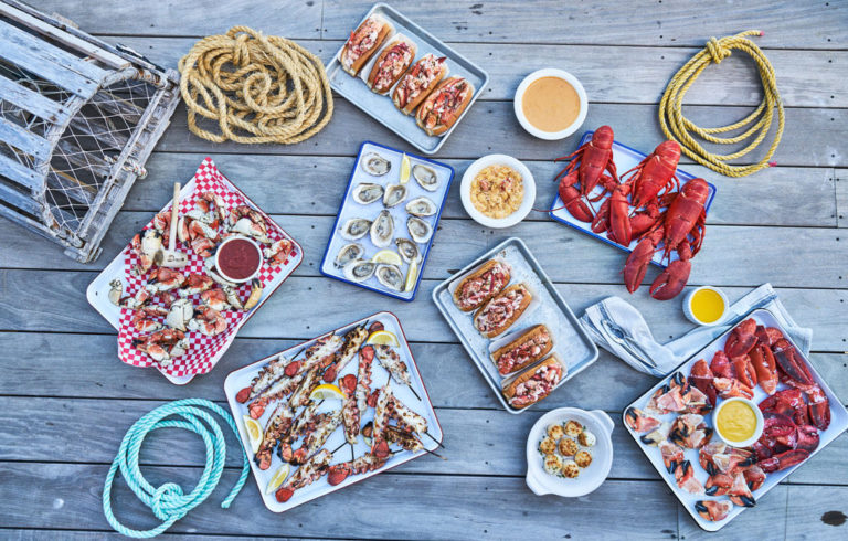 Maine Seafood Dishes